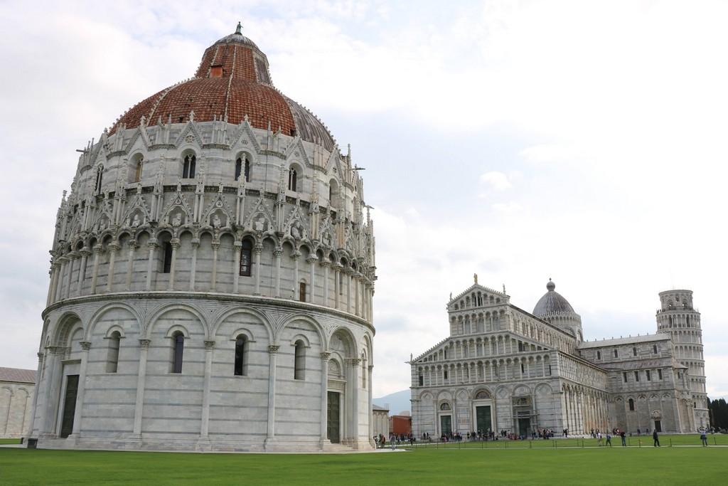 Pisa - katedrala i krstionica