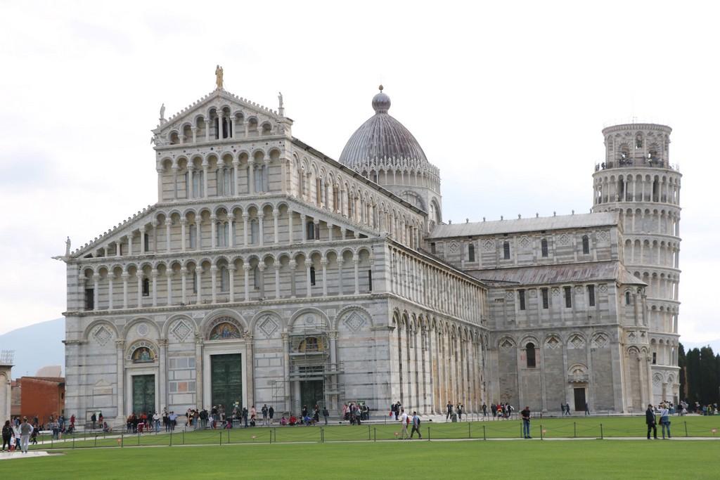 Pisa - katedrala i kosi toranj