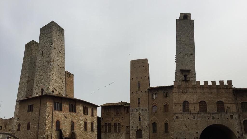San Gimignano i Pisa