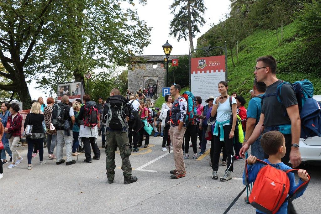 Ulaz u Bledski grad