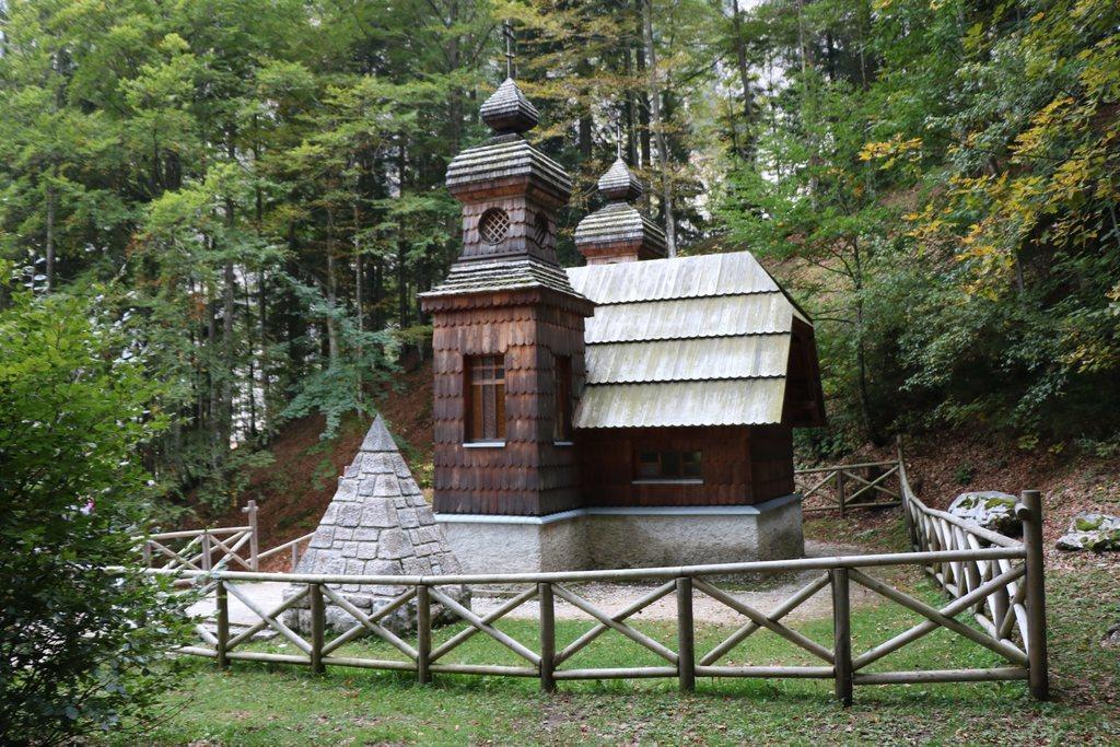 Ruska kapelica na Vršičkoj cesti