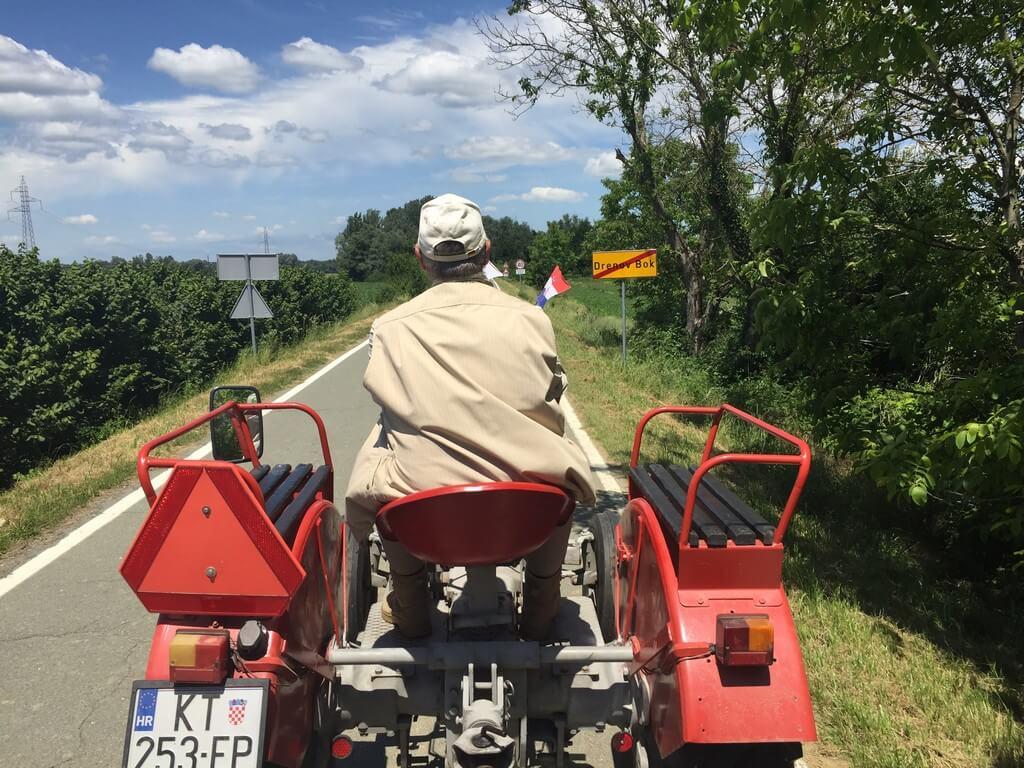Oldtimer traktor, PP Lonjsko polje