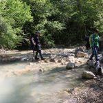 prelazak preko rijeke Mirne - Staza 7 slapova